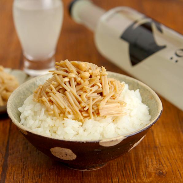 レンジで【旨塩なめたけ】「塩味」で作るなめたけが最高すぎる これご飯さらってきます