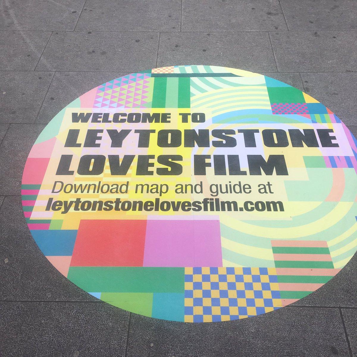 Anything happening this weekend? Leytonstone tube commuters #FOMO #leytonstonelovesfilm #OpeningNight