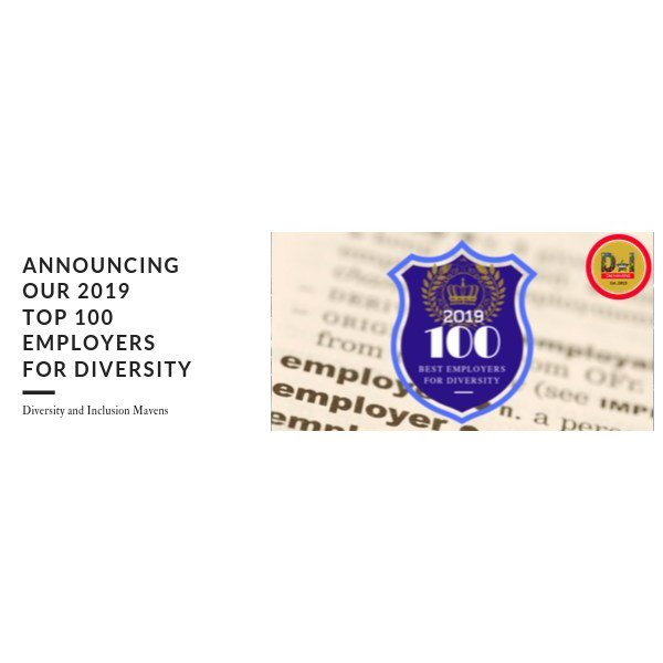 Breaking news; Announcing the 2019 TOP100 Employers for Diversity #diversityandinclusion prn.to/2lJqWZU