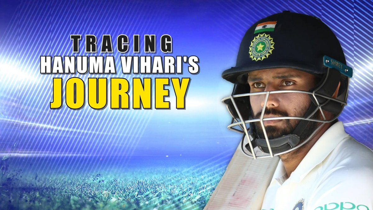 From being an injury replacement in India's U-19 World Cup squad to being the first cricketer from #AndhraPradesh to represent India in 19 years, @Hanumavihari's journey is a tale worth telling. Watch how the 25-year old made his mark against all odds.#HanumaVihari #TeamIndia