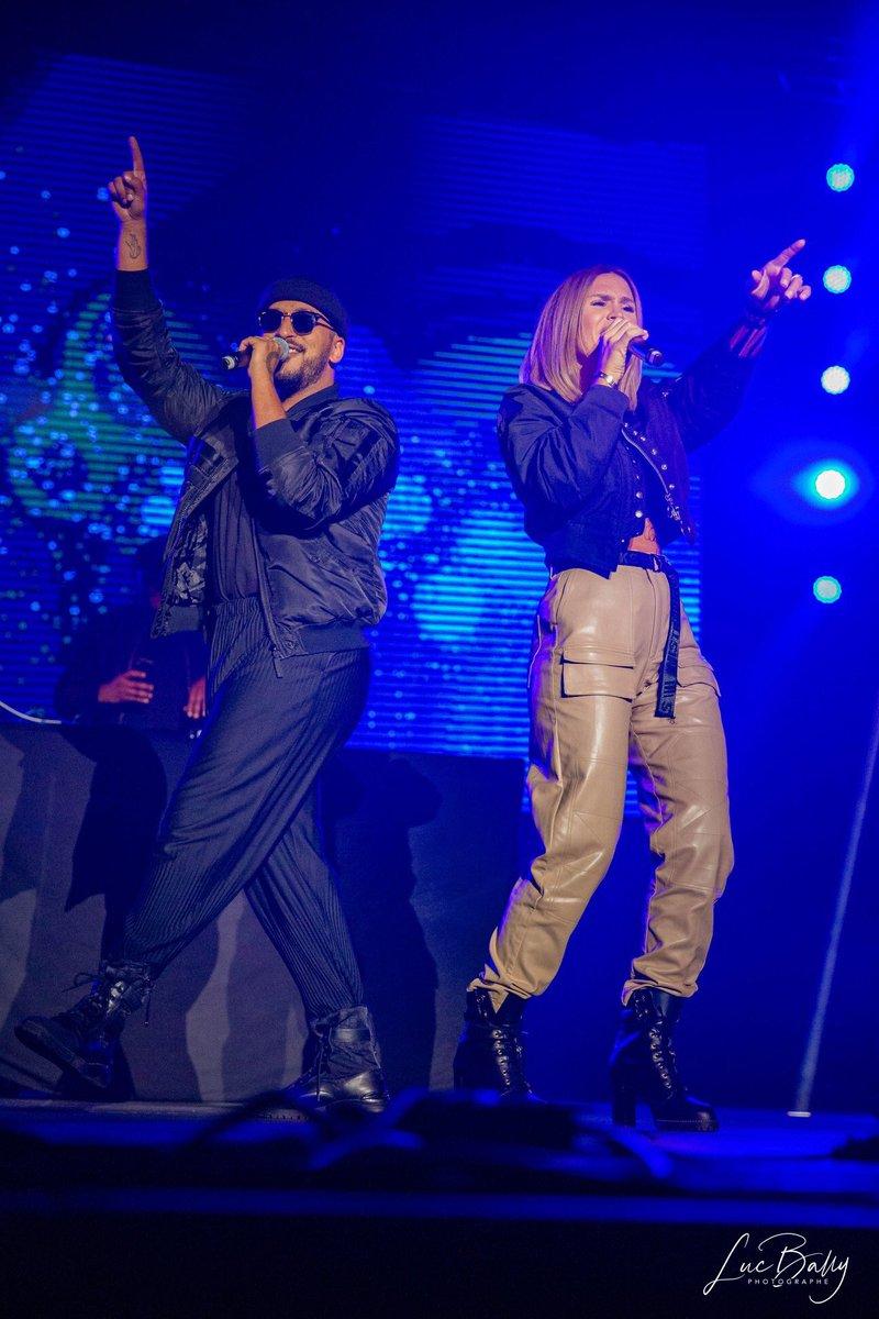 .@VITAA & @Slimaneoff hier soir sur la scène du #Topmusiclive de Colmarpic.twitter.com/P3osLiNMdI