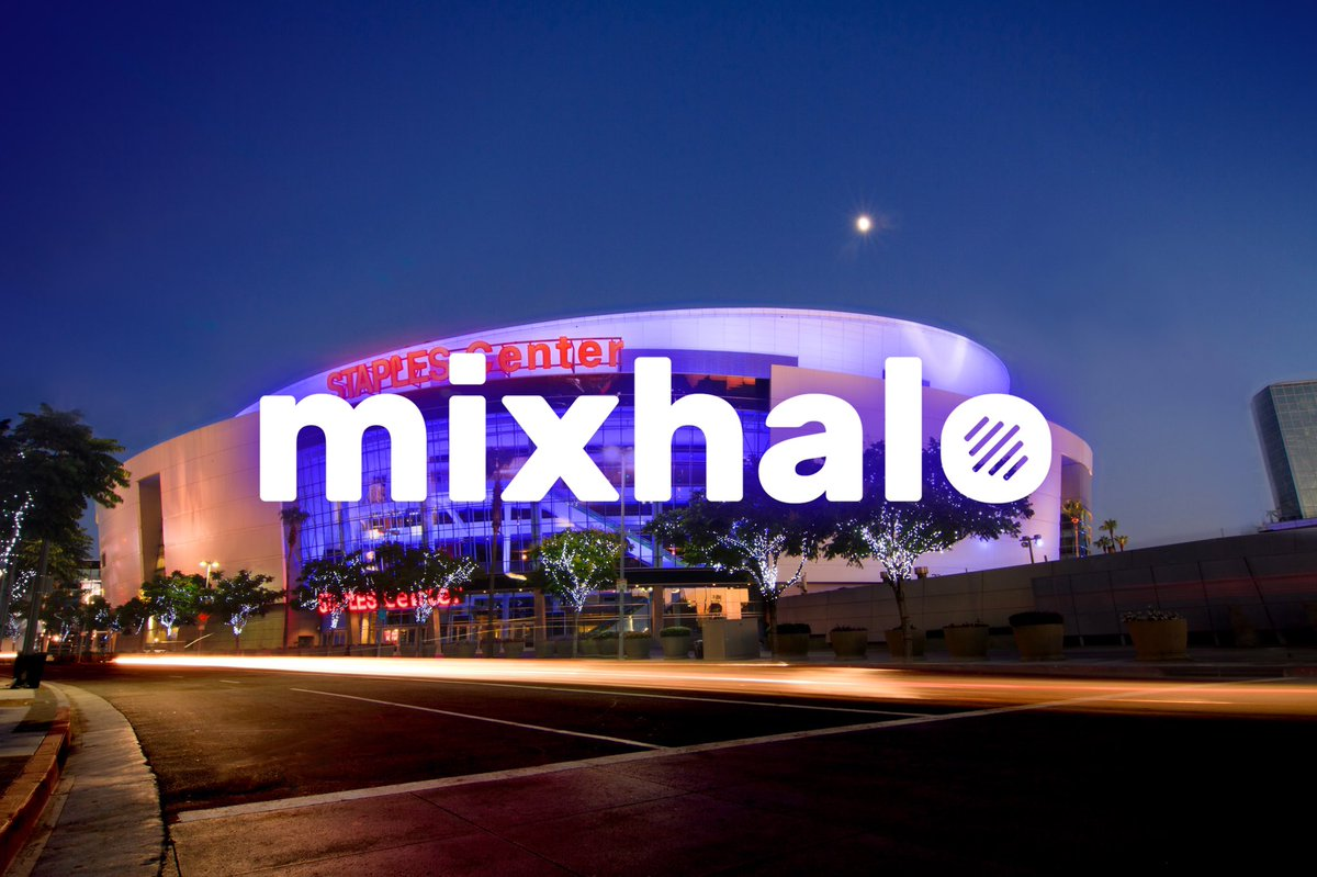 READ: @Mixhalo Cuts First Arena Deal With @STAPLESCenter bit.ly/MixhaloSTAPLES… #tech #mixhalopowered