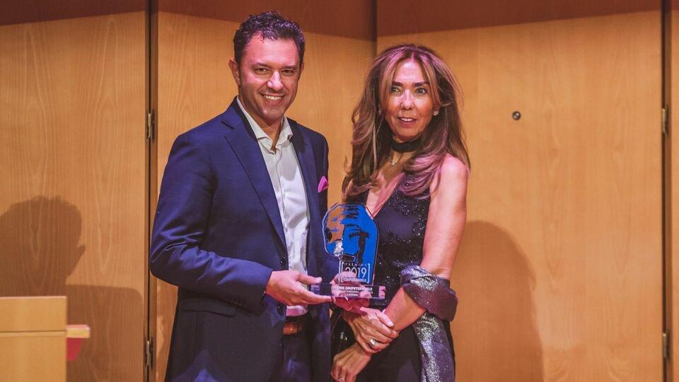 #PremiosComputerworld a @TSystems_Iberia por ser la empresa más innovadora en este 2019 por la puesta en marcha de un Centro de #Innovación en Barcelona de más de 300 m2.