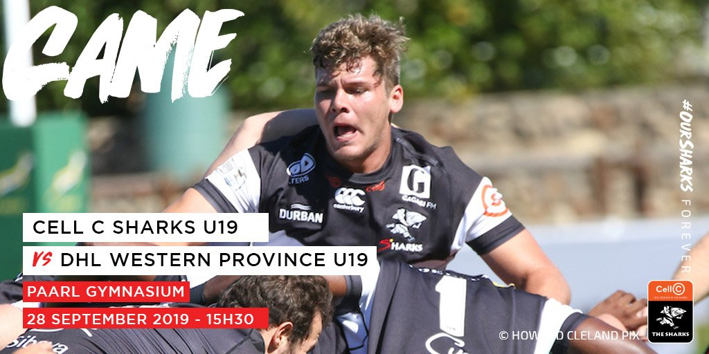 The U19 Sharks team are currently playing in the U19 Provincial Championships and have won two games with their third game being played tomorrow against Western Province at Paarl Gymnasium. The winners of the North will be facing the winners of the South in the Finals 🦈