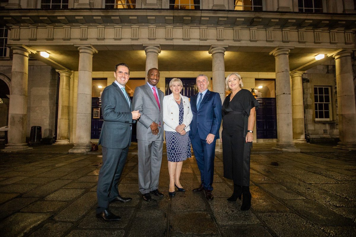 MSD Ireland makes a significant contribution to the Irish economy with extensive operations across four counties. @MartinDShanahan and @HHumphreysFG met with the CEO and Chairman, Dr Ken Frazier and senior leadership team during their visit to Ireland earlier this week.