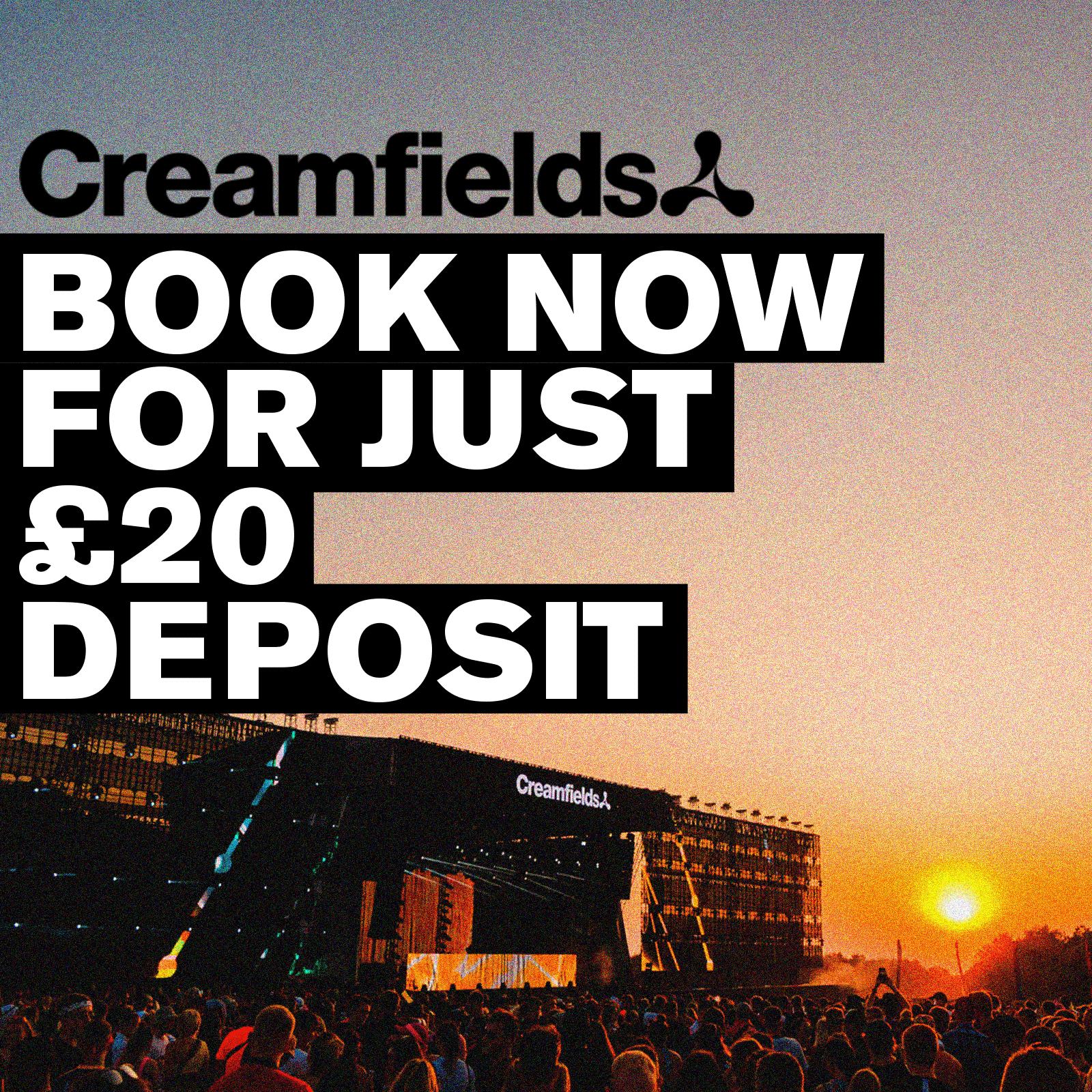 2020 Creamfields tickets