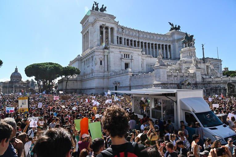 Rome! #ClimateStrike #FridaysForFuture