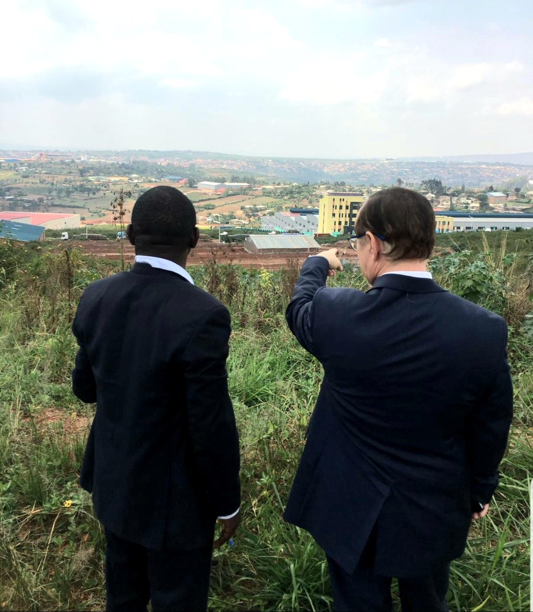 We had another great week, in which I visited the Kigali Special Economic Zone, a heartbeat of Rwanda's economic development, and had an opportunity to meet with international companies such as @yara and @VWRwanda. Hope to see Israeli companies here soon. Thank you @RDBrwanda