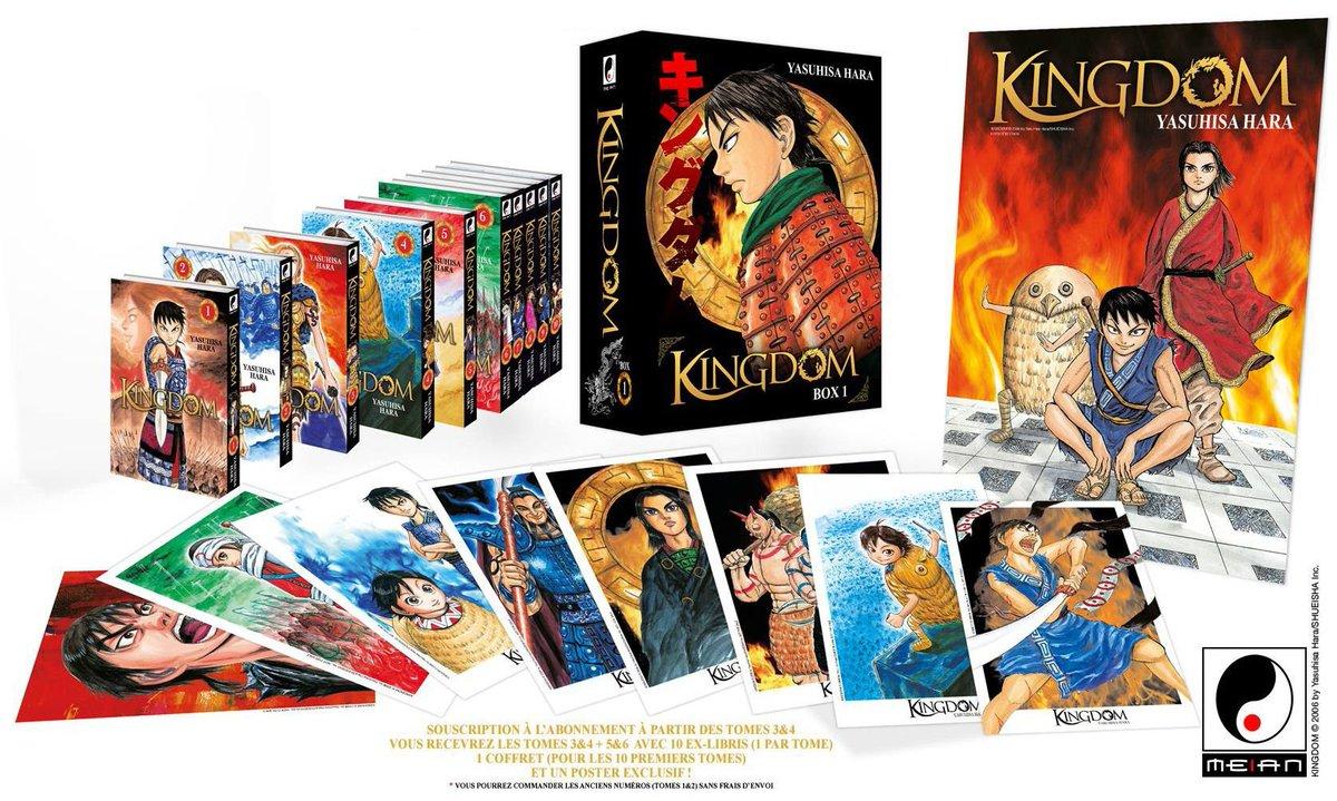 🚨CONCOURS🚨 RT + Follow @gohanblog pour gagner : • Kingdom (T1 à 10 !!) • Egregor (T1 à 3) • Jormungand (T1) • Baltzar (T1) • Les 7 ninjas d'Efu (T1) 2 gagnants ! (Lun de la box Kingdom T1 à 10 et lautre du reste des mangas) 🔥🔥🔥