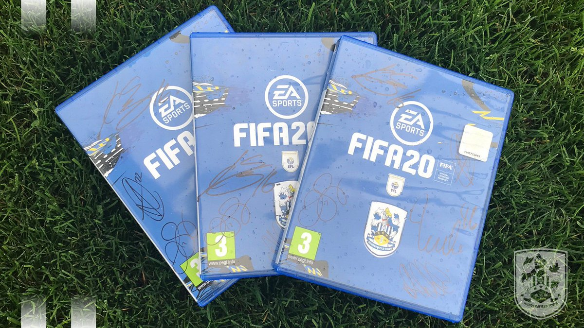 🎮 Want to win a signed #PS4 copy of @EASPORTSFIFA? 👌 Signed by @dannysimpson, Christopher Schindler, @pritch_93, @karlangrant & @FraizerCampbell! 😁 All you have to do is RT this post & follow @htafc. ⏰ Competition ends 1 October 2019. 👍 Good luck! #FIFA20 #VOLTAFOOTBALL