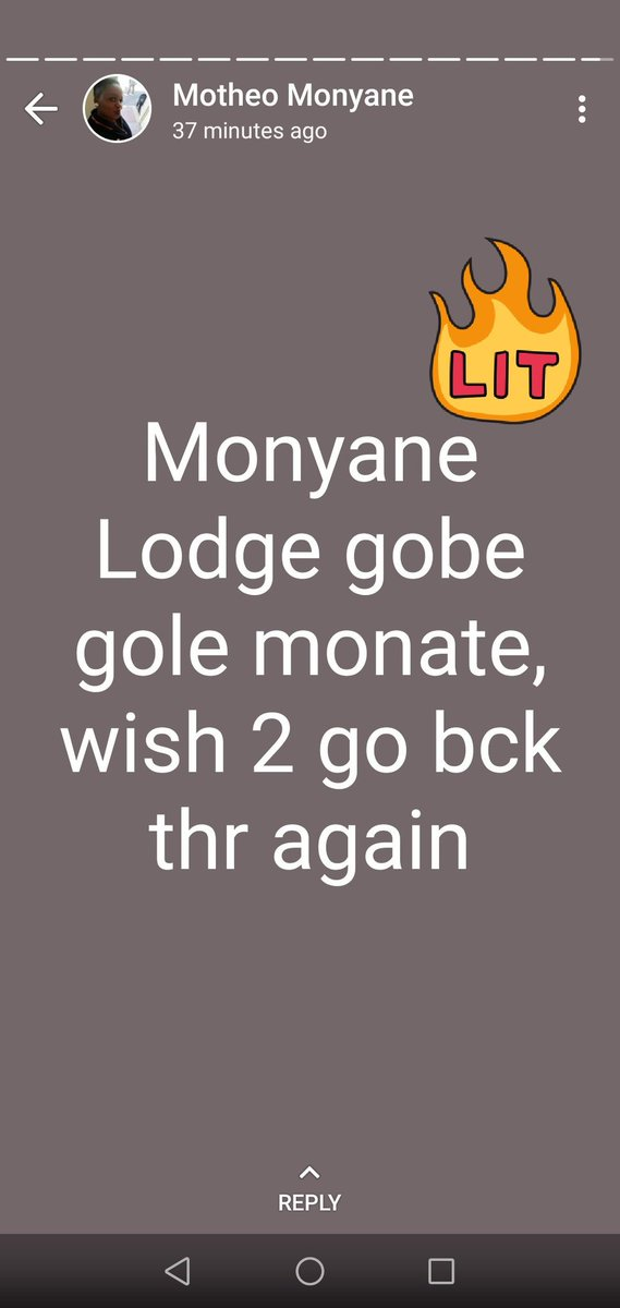 Monyane Lodge On Twitter What Does Your Whatsapp Status