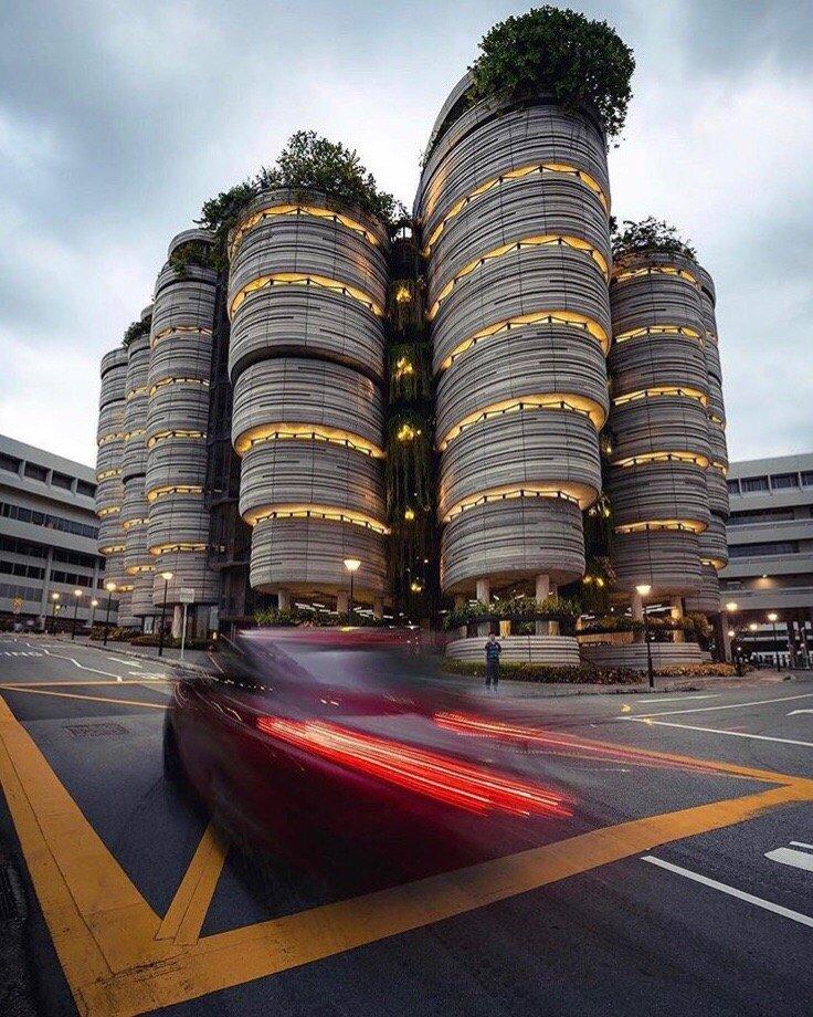 фото зданий в сингапуре нам часто обращаются