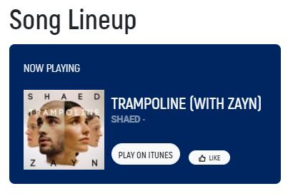 #nowplaying #Trampoline - @shaedband X @zaynmalik on @987fm ✨