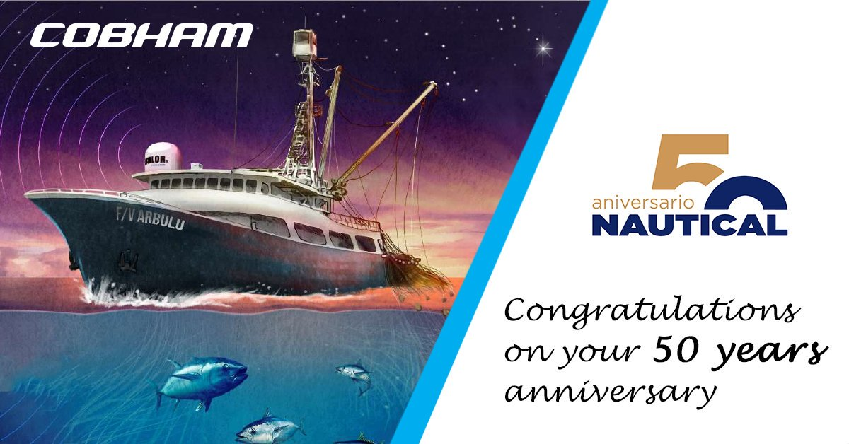 Thank you @cobhamsatcommar for sharing such a special day with us. #youareournorth #nautical_news_en