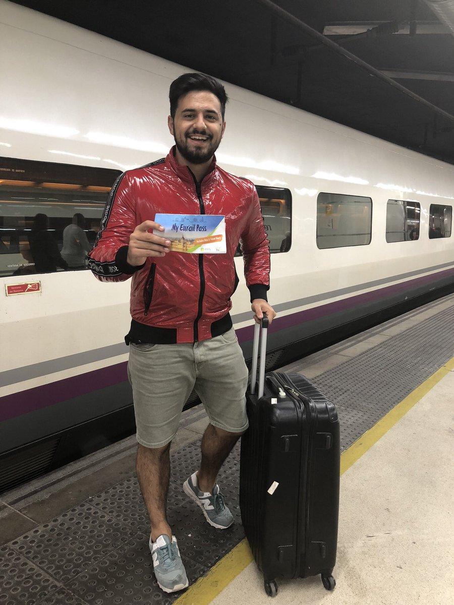 Gracias a @Eurail pudimos recorrer toda Europa en TREN! Y fue lo mejor de este viaje! Una experiencia única, los trenes en europa es la mejor opción! Muy puntuales, rápidos, limpios y te deja en el centro de la ciudad !!! #eurail