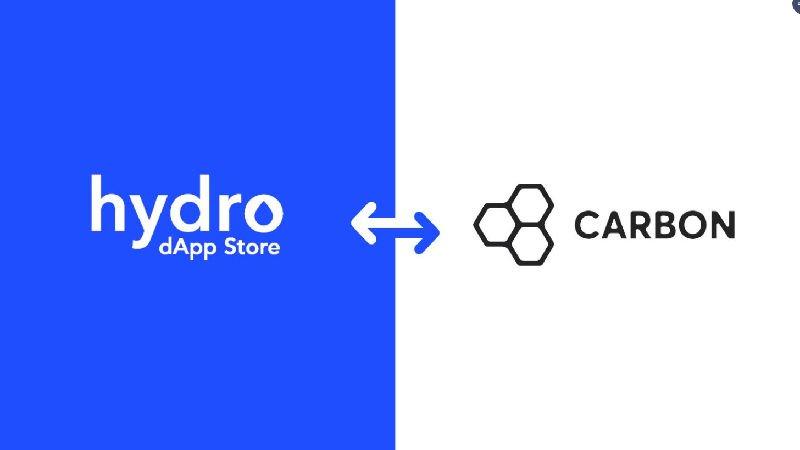 $Hydroまたまた #dAppStore での開発者向け提携発表。第3弾 #Carbon? フィアットとトークンの交換を容易にできる機能を持ちます。フィアットへはPaypalアカウント経由?これも仮想通貨、DEX案件で使われる可能性高いですね!いろいろ機能が備わってきています。
