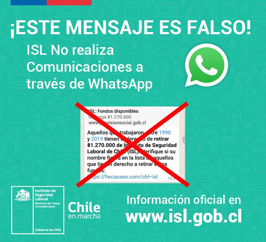 Ipschile Auf Twitter Advertencia Hay Información