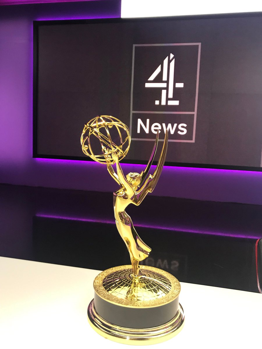 Glad & proud to say @Channel4News 4th International Emmy for News in 7 years made it back from NYC. Congrats to all @Channel4News especially the investigations unit as #Cambridgeanalytica wins only Emmy available to non US broadcasters against global competition.
