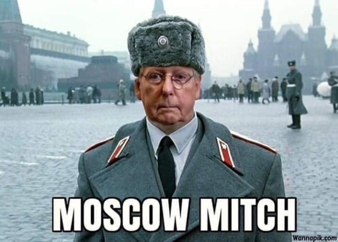 @senatemajldr What about the Russian aggression in OUR elections!! How about passing legislation for that, huh #MoscowMitch?? It would be nice to have a free and fair election In 2020 especially after ALL thats come to light!!