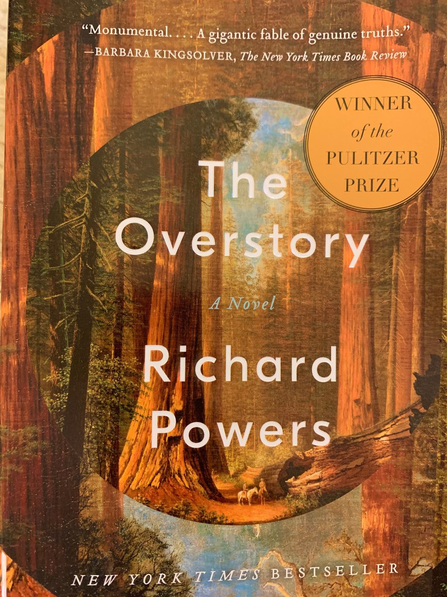 Greatly enjoyed yesterdays walk through the East Woods at @MortonArboretum with Richard Powers, and then his engaging and inspiring conversation with @AndrewLHipp about his #PulitzerPrize winning novel, #TheOverstory. Trees and humanity are interconnected.