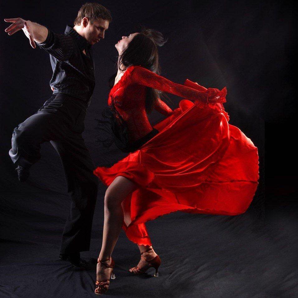 Картинки из танца сальса