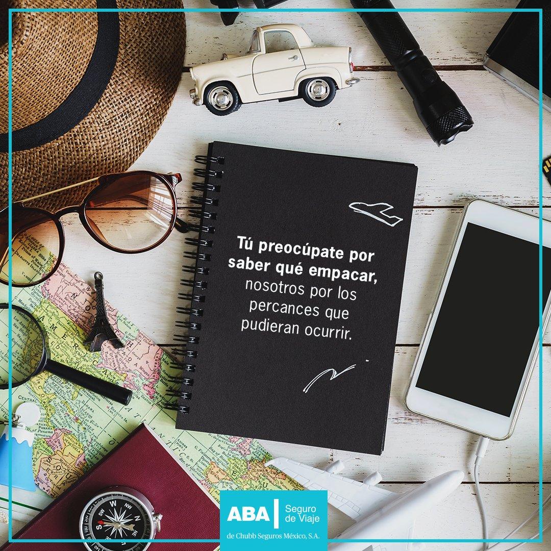 ¡Feliz Día Internacional del Turismo! Tenemos un seguro de viaje especialmente para ti 👉 https://t.co/GDvzc8kp6v #ABAPorElMundo ✈️ https://t.co/pgaV7Prac3