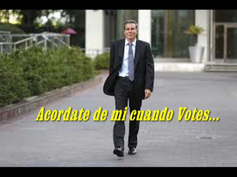 Nisman 4 años 8 meses y 9 días.- QEPD Siempre recordamos tu muerte absurda... Y claro que estarás en nuestro voto!!!