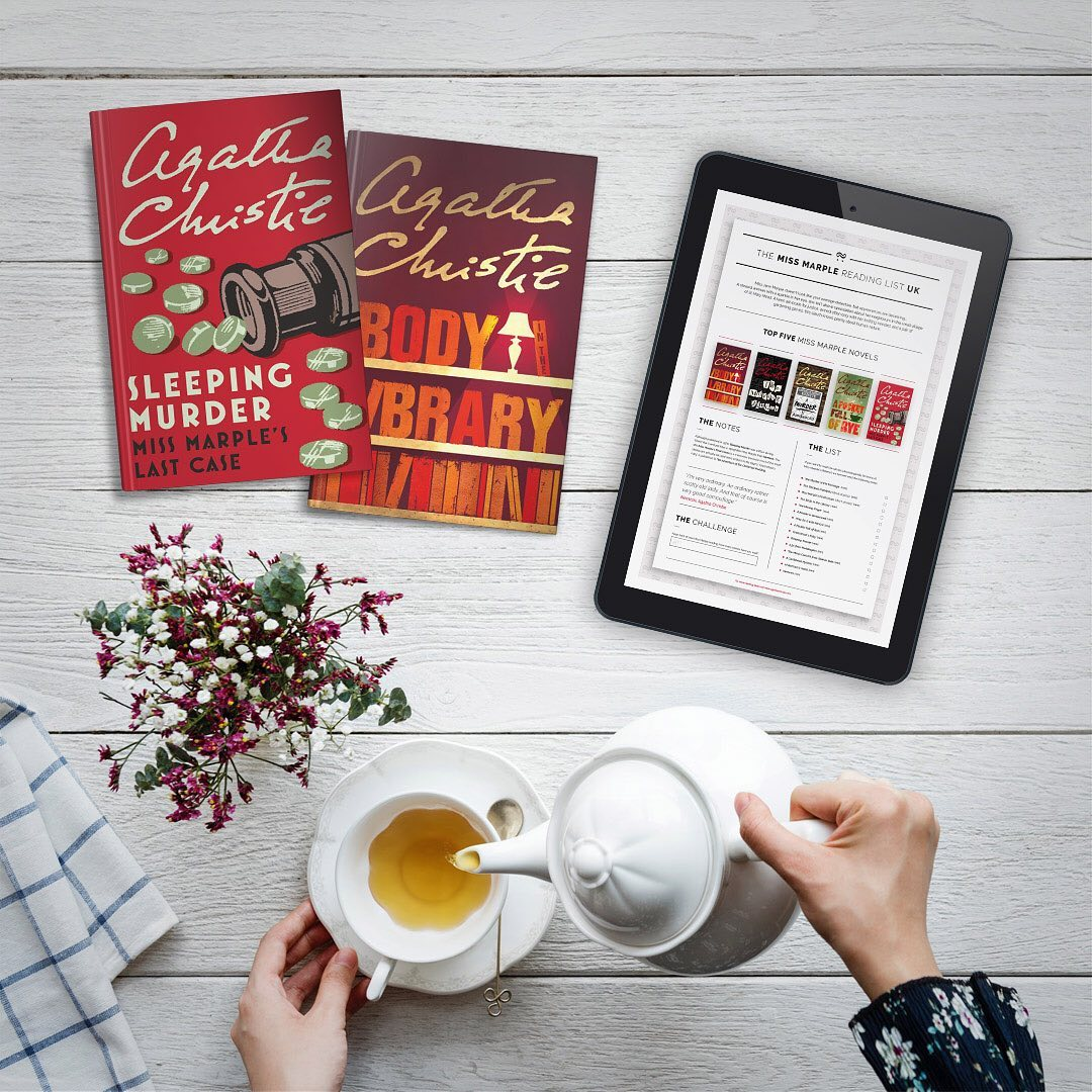 Sign up to our newsletter for the official Miss Marple reading list, with top 5 stories and recommended reading order: bit.ly/ChristieNews