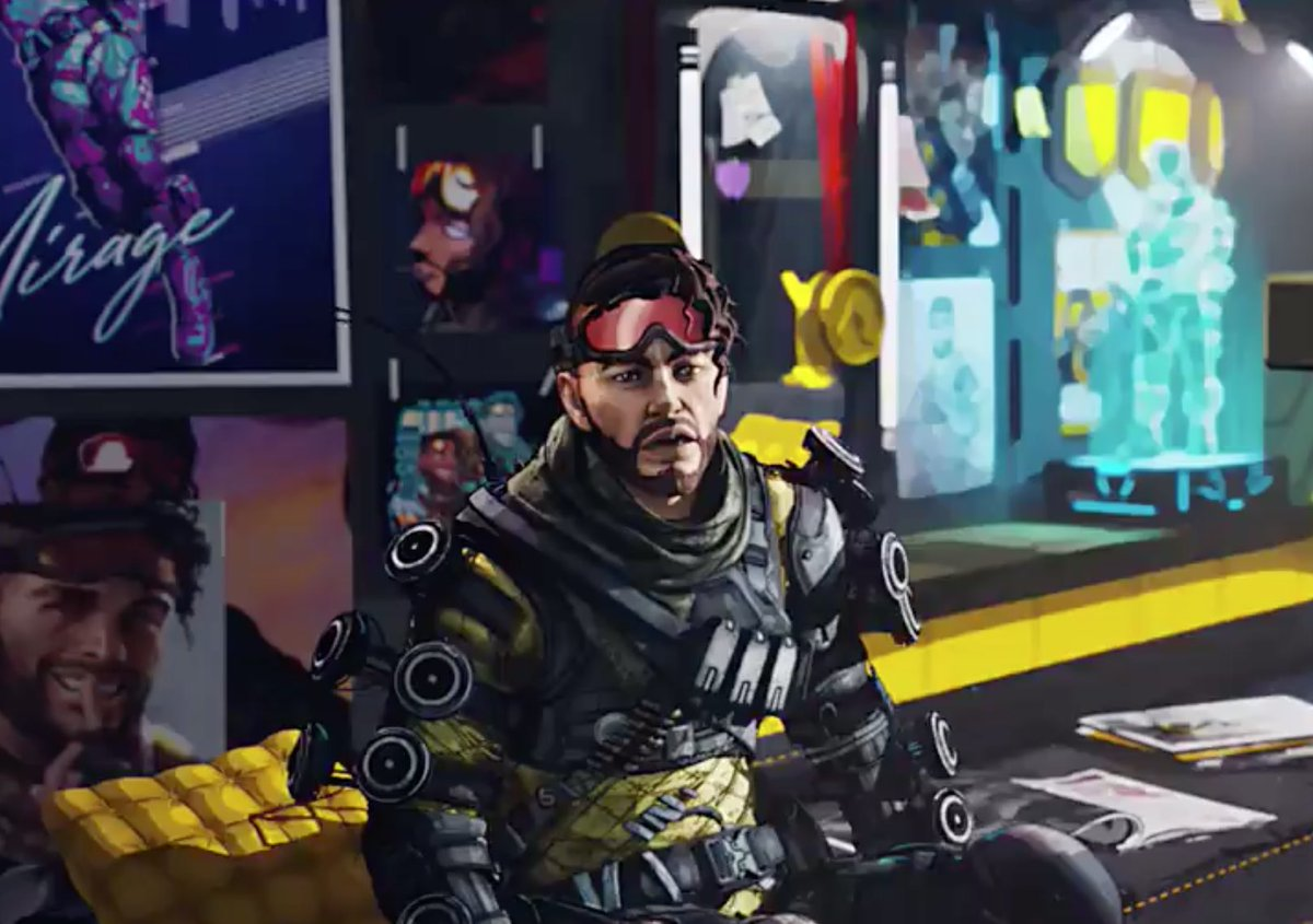 My favorite part of this trailer is that we used real fan art from the community to decorate Mirage's bunk! Huge shout out to the artists ☺️❤️