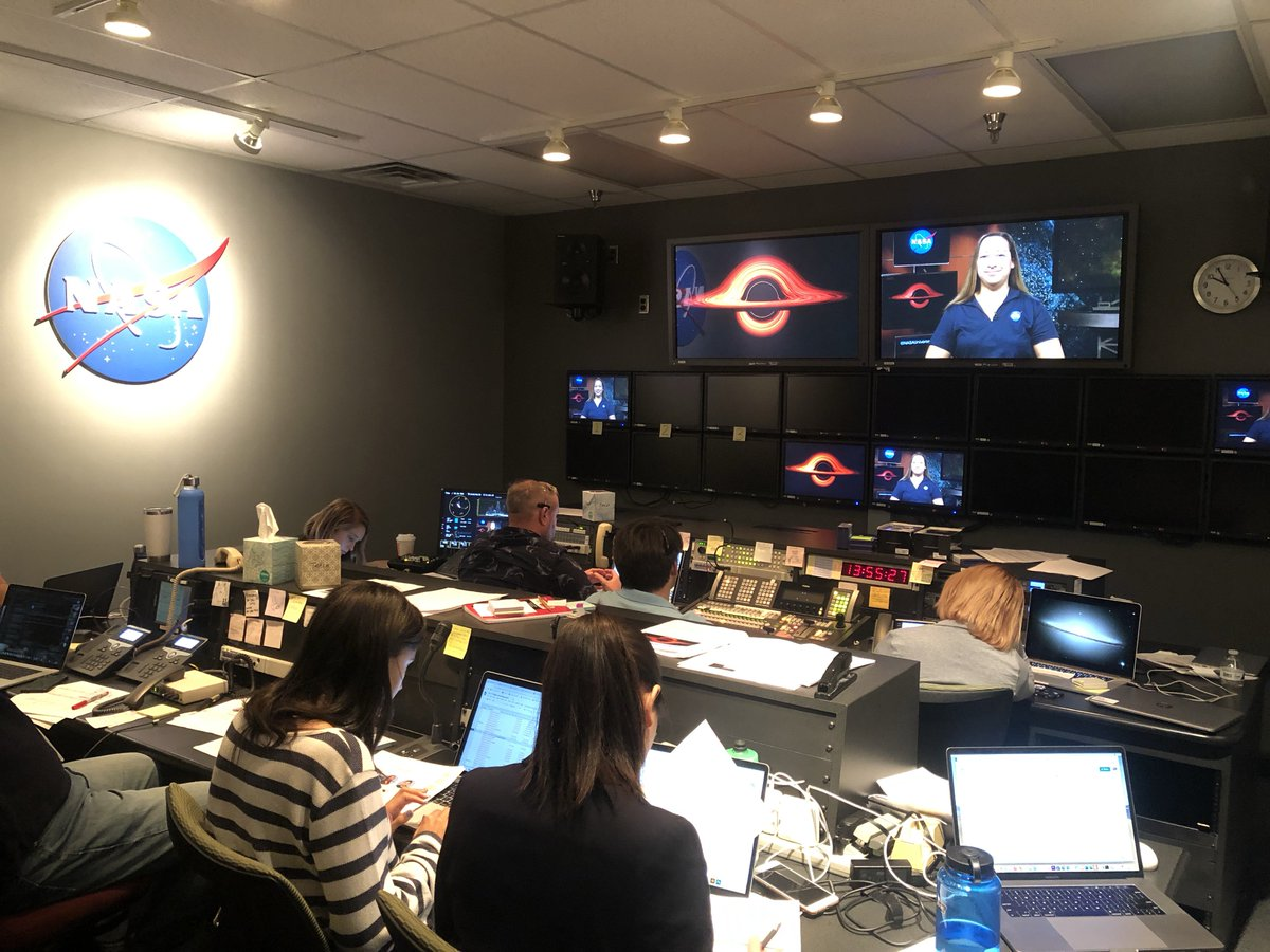 #ICYMI @NASA_TESS and other observatories witnessed a star getting shredded by a black hole, and scientists gathered @NASAGoddard today to talk to news stations around the world about this new detection! Learn more here: nasa.gov/feature/goddar… #BlackHoleWeek