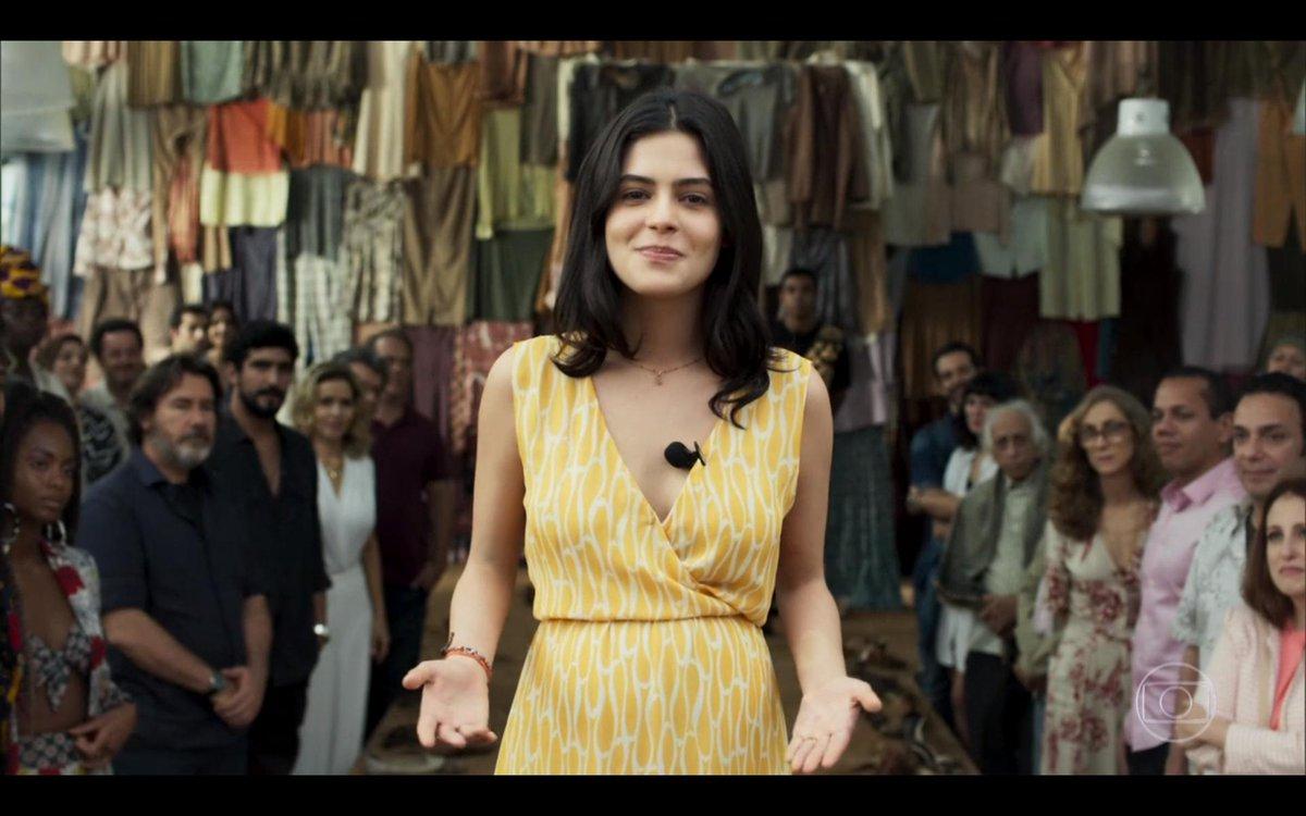 A Julia Dalavia é uma ótima atriz. Merecia uma mocinha melhor. #OrfaosDaTerra