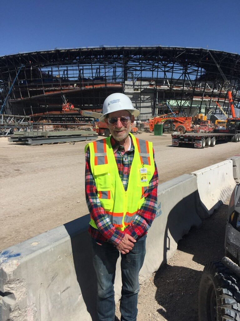 Hard Hat tour of new Raiders Stadium magnificent can't wait!