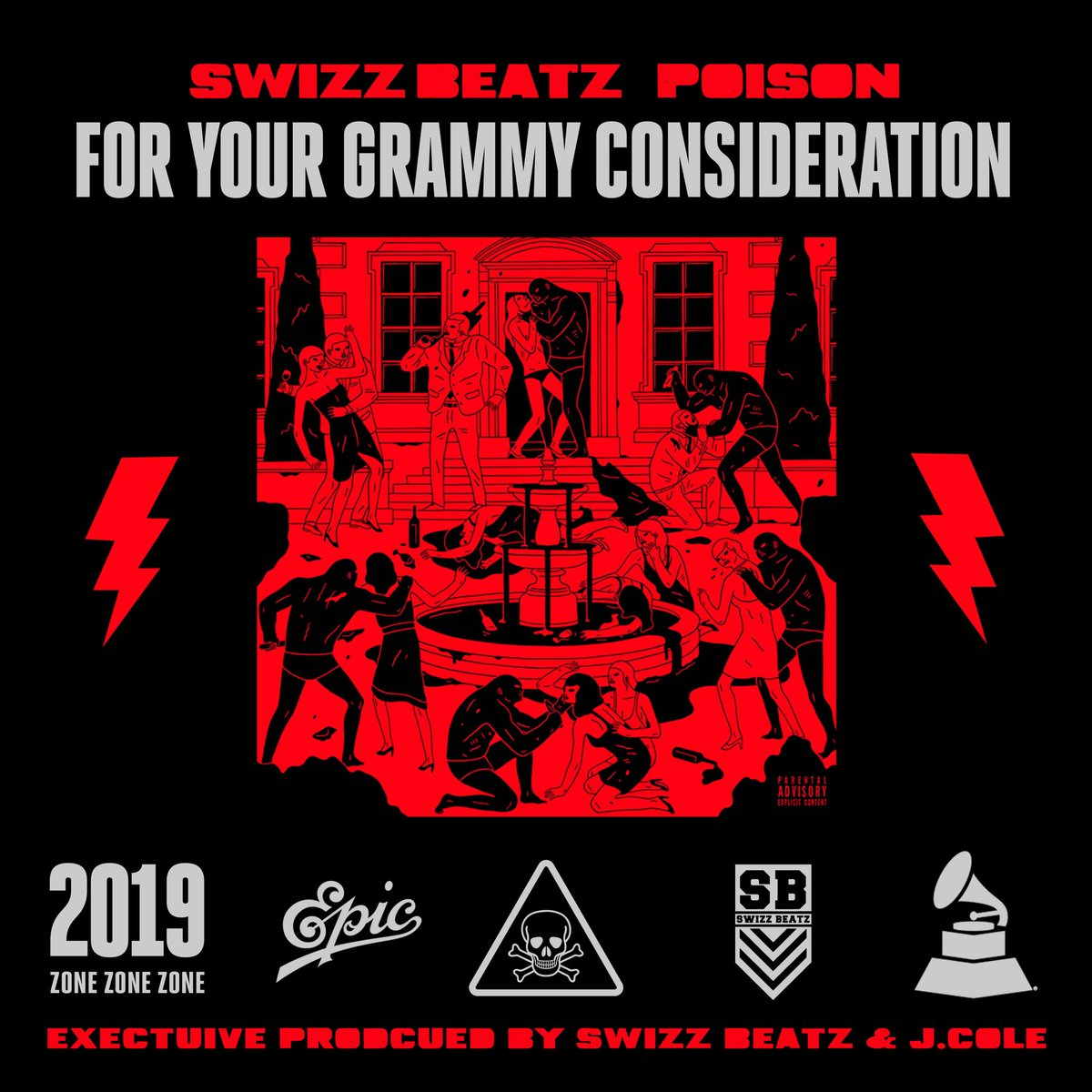 """For your consideration: @THEREALSWIZZZ """"Poison"""" #GRAMMYs"""
