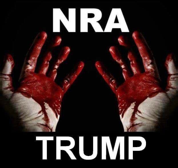 """So American moms and dads, do you think Trump cares about the well-being and safety of your children from gun violence? No. He. Does. Not. Guess who Trump met with today and who pledged""""Financial support"""" for the impeachment defense. The NRA. #ImpeachTrump #GunReformNow twitter.com/nora4usa/statu…"""