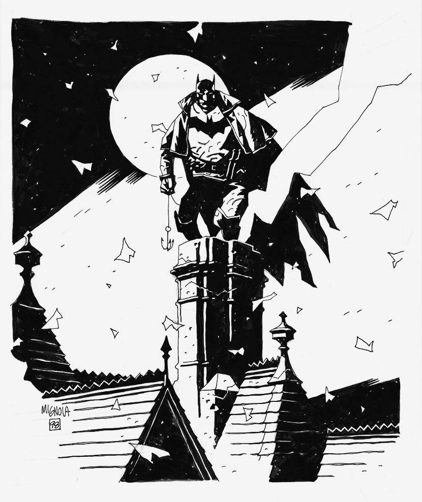 Cool Comic Art On Twitter Gotham By Gaslight Batman By Mike Mignola Artofmmignola