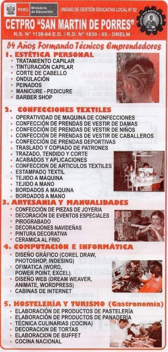 Cetpro San Martín De Porres Cetprosan Twitter