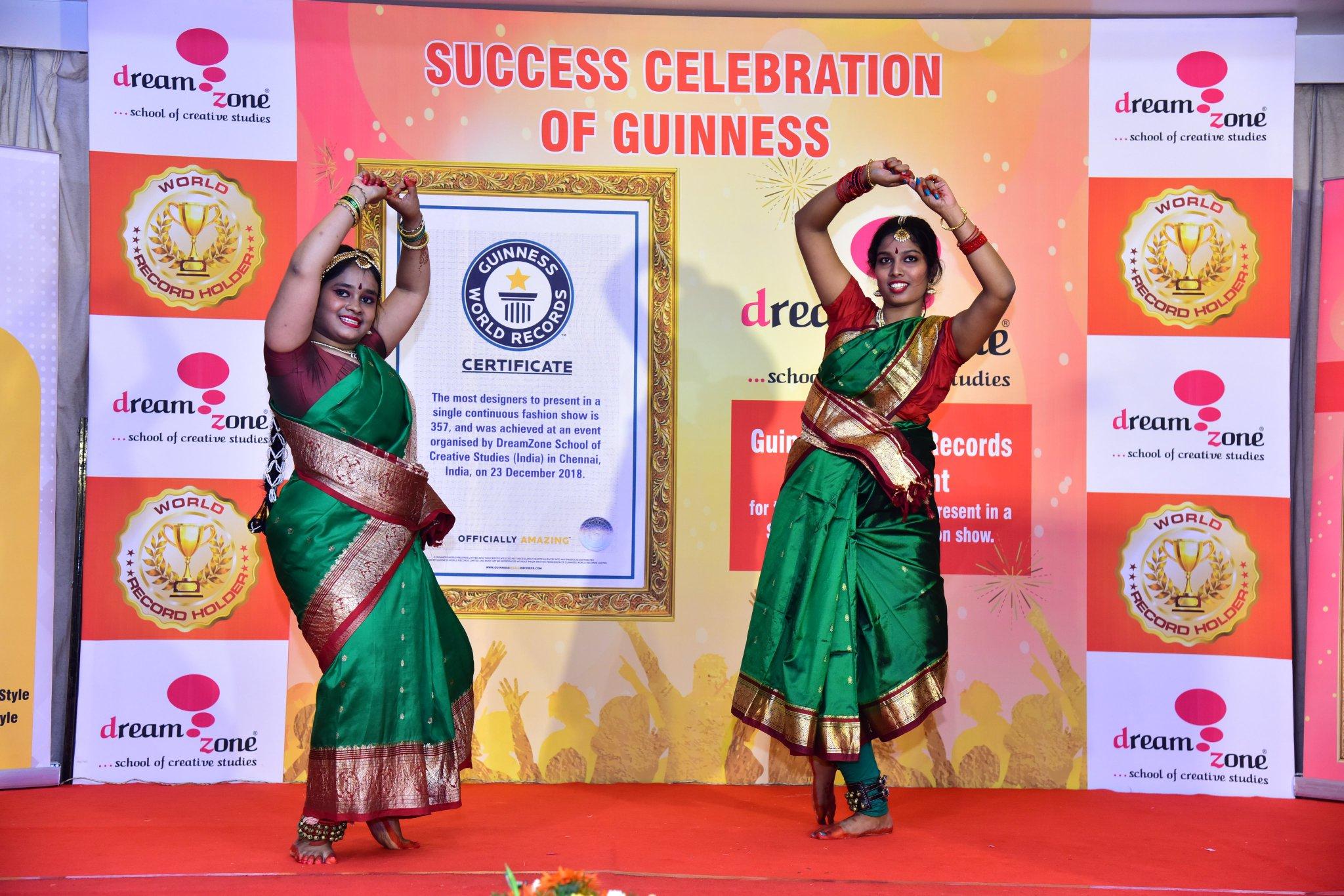 Dreamzone School Of Creative Studies On Twitter Dreamzone Celebrated The Mega Success Of Guinness Book Of World Record For Most Numbers Of Designers Showcase In A Single Continuous Fashion Show Dreamzone Schoolofdesigning