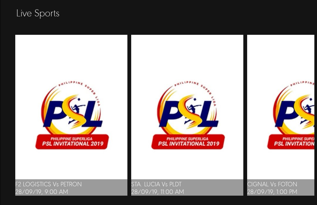 5PlusPH Sports5PH Mavshack SuperLigaPH yung schedule po ng live sa Mavshack ay baliktad. 🤷🏻♂️  Tapos yung Opening Ceromonies hindi ko napanood kasi laging error. https://t.co/RxN2WXXt5T  — 𝚅𝚘𝚕𝚕𝚎𝚢𝙼𝚊𝚜𝚝𝚎𝚛𝙿𝙷 🇵🇭🏐 (MeterVolley) September 28, 2019   MeterVolley
