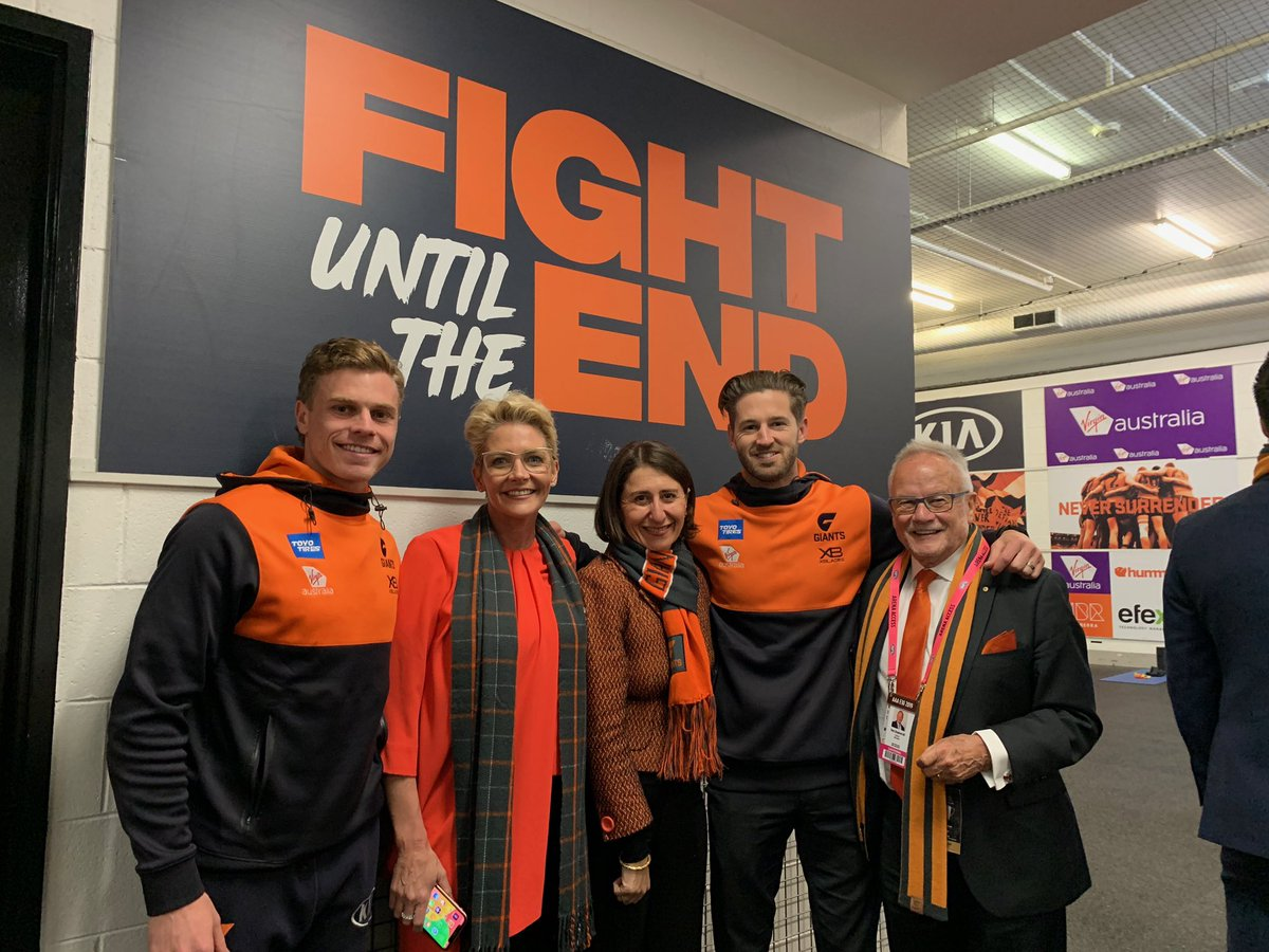 Go the @GWSGIANTS we're backing you to go all the way! #AFLGrandFinal