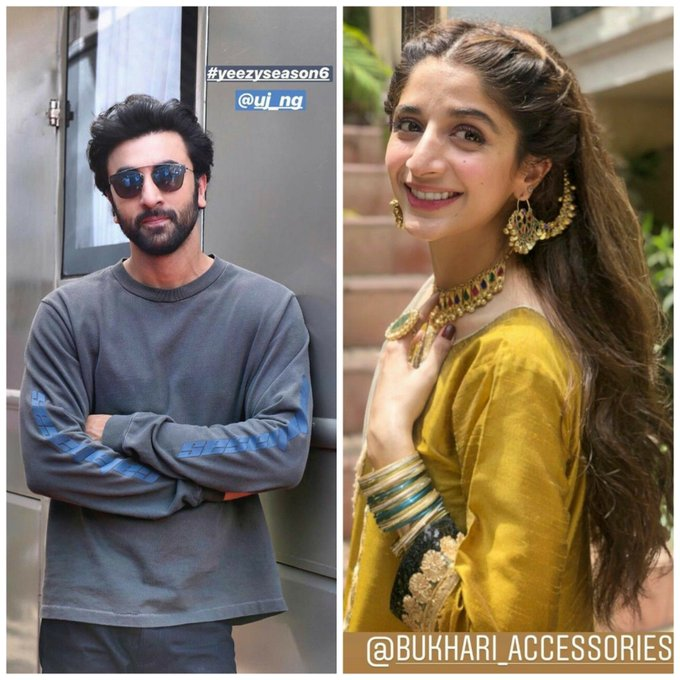 Happy birthday to two most talented actors and my favourite Ranbir Kapoor & Mawra hocane