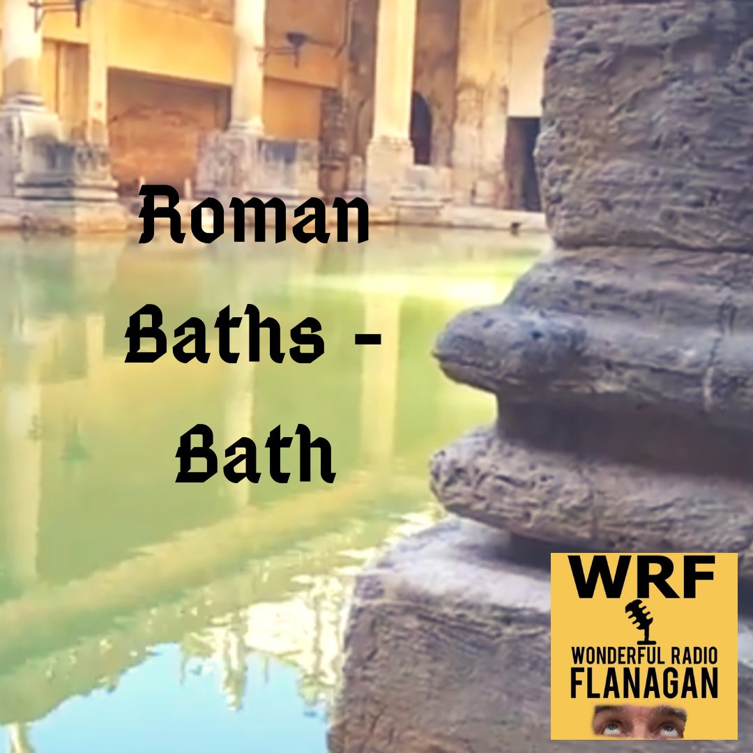 Audio rip of two short You Tube videos on a visit to the Roman Baths at Bath. The tour starts in the underground part of the building. We then move outside to the main Roman Bath where I interview a guide called Carol 😀👍  https://t.co/SfY2UiWaVF https://t.co/EGYAztHAR8