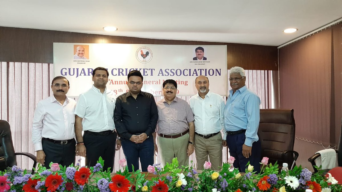 Dhanraj Nathwani becomes new Vice President of Gujarat Cricket Association (GCA)
