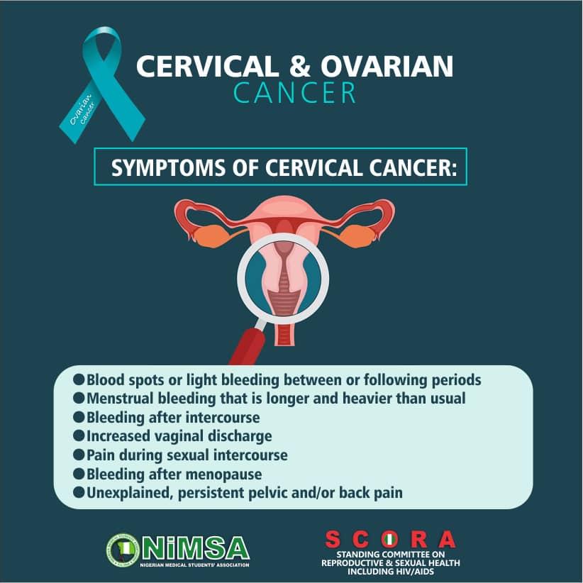 hiv and ovarian cancer sarcoma cancer warning signs