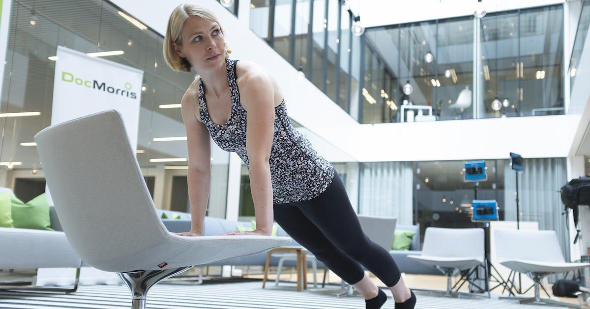 Ein bisschen #Pilates, so ganz ohne Matte, ohne Pilates-Studio und einfach von zu Hause aus oder am Arbeitsplatz? Unsere #Pilatestrainerin Jeannine zeigt Euch, wie das funktioniert! #DocMorrisTurnt https://fal.cn/34cprpic.twitter.com/nmIukny6QN