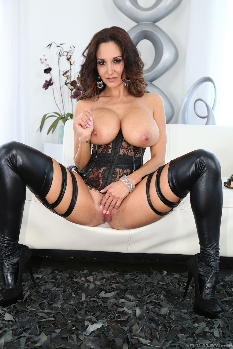 Ava addams leather