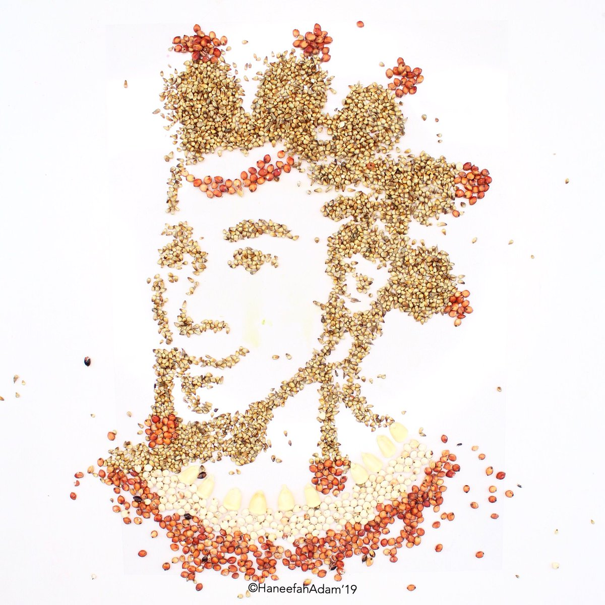 "Haneefah Adam on Twitter: ""•Bantu Knots X Iyun (Latana #beads ..."