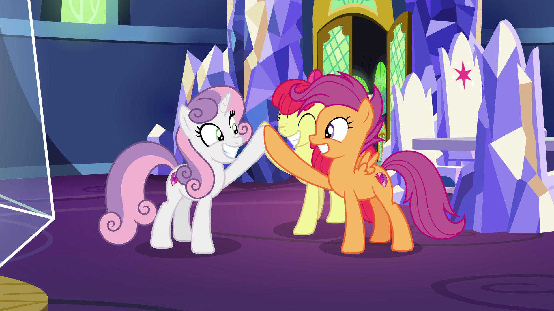 Brotaraft On Twitter Yeah They Re Older Now But Scootaloo S Wings Are Still Small Mlpseason9 I mean, why not lock them in a room together or something? dear, i don't think that would be wise, windy gently rebuffed. wings are still small mlpseason9
