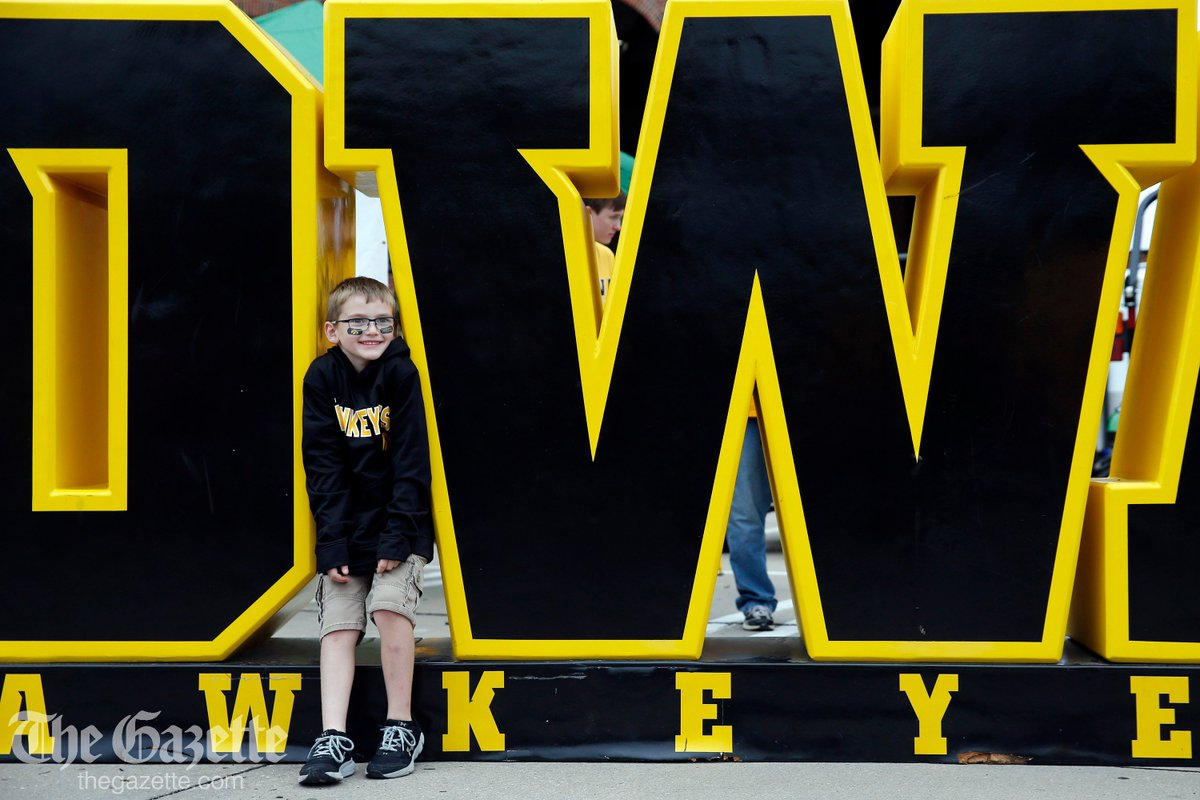 Its game day in Iowa City - see pregame photos at thegazette.com/subject/sports…