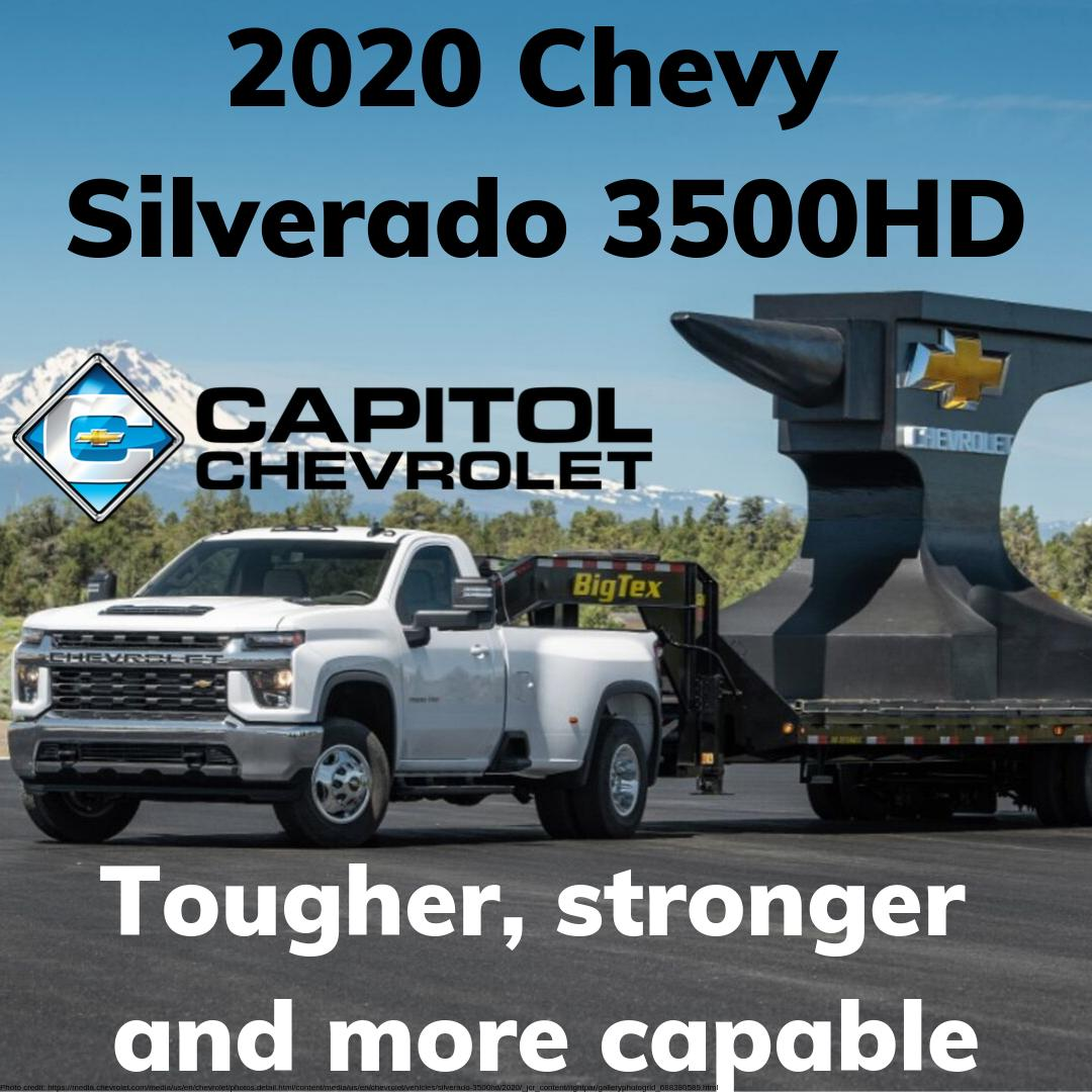 Capitol Chevy Austin On Twitter Our New 2020 Silverado 3500 Hd Will Leave You Speachless With All Its New Features And Capabilities Https T Co Zxziwiqwda Chevy Capitolchevrolet Chevysilverado Chevysilverado3500hd Silverado3500hd Https T Co
