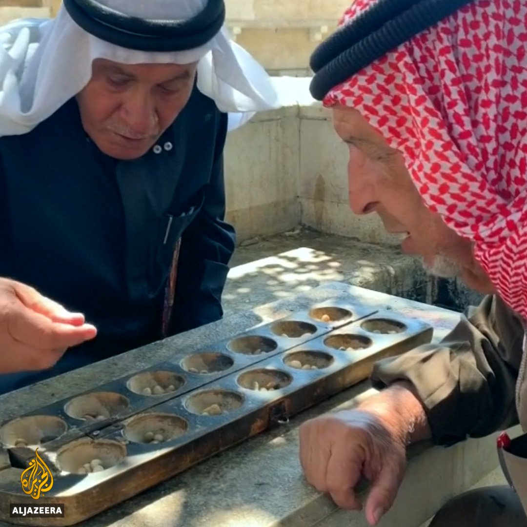 This is one of the worlds oldest board games 🇯🇴